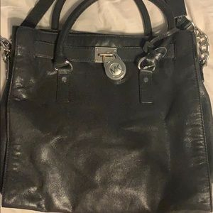 Michael Kors Tote purse with key and lock